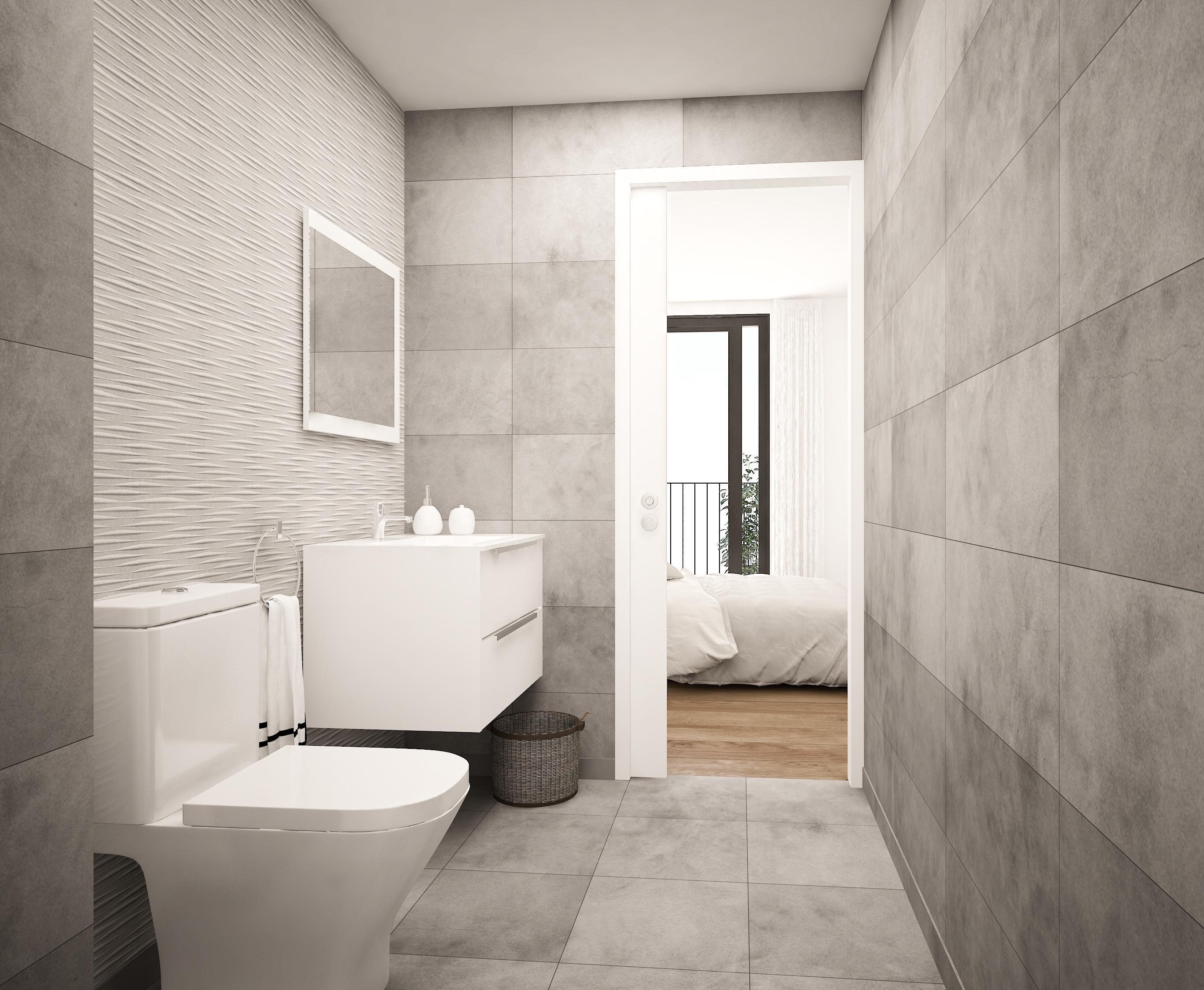 baño moderno de inmueble