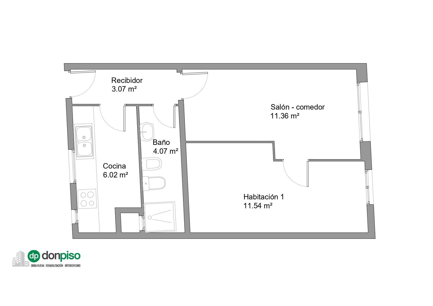 Imagen 2 Apartamento en venta en Barcelona / Passeig de Colóm - Rambles