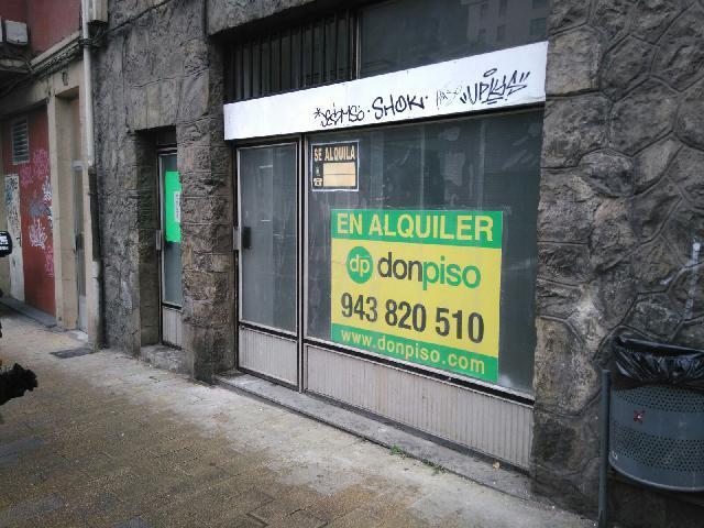 Imagen 1 Inmueble 37934 - Local Comercial en alquiler en Eibar / Zona    Barrena
