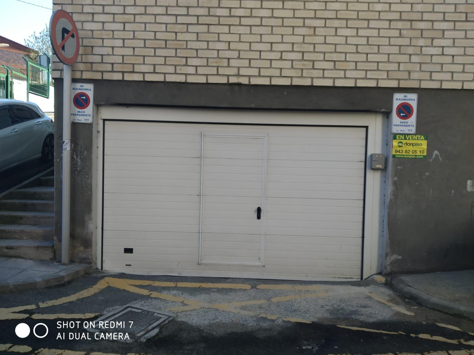 Imagen 1 Parking Coche en venta en Eibar / Zona       Urki