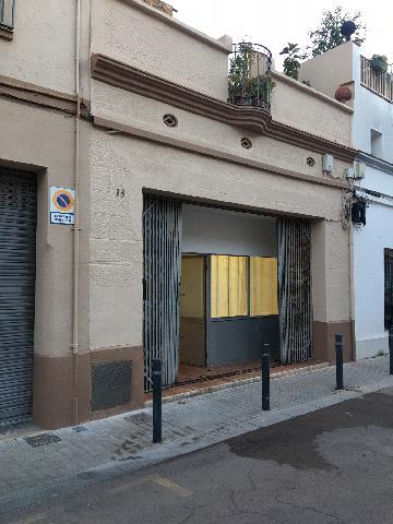 Imagen 1 Inmueble 240601 - Local Comercial en alquiler en Barcelona / Pasaje junto al parque del Poble Nou. Estudio ideal