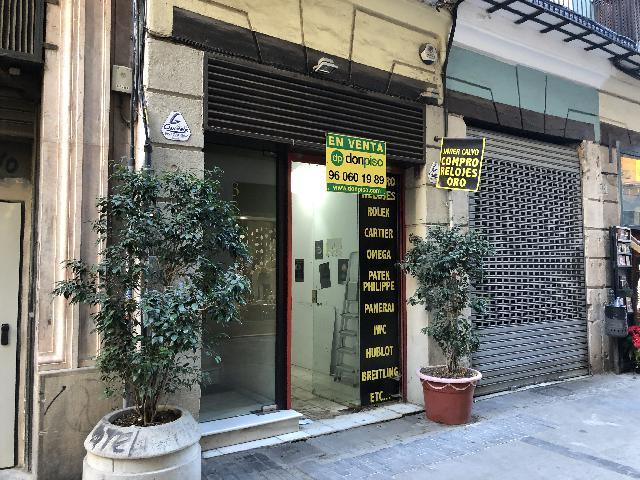 Imagen 1 Inmueble 234062 - Local Comercial en venta en Valencia / Próximo al Mercado Central y plaza del Ayuntamiento.