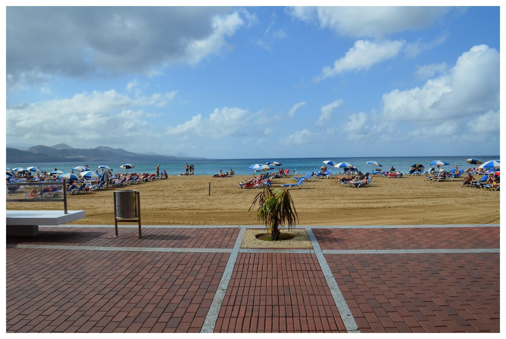 173343 - En primerísima linea de la Playa de Las Canteras.