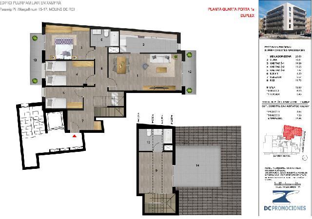 Imagen 1 Inmueble 237159 - Dúplex en venta en Molins De Rei / Centro del pueblo. A 2 minutos de la estación (Molins)