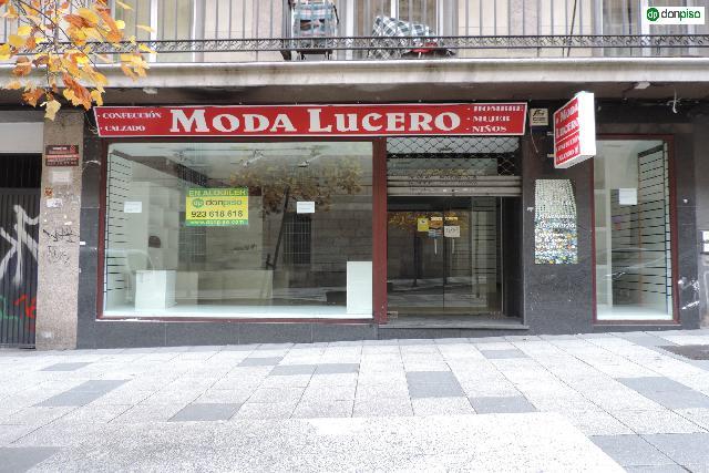 Imagen 1 Inmueble 216407 - Local Comercial en alquiler en Salamanca / Calle Padre Cámara. Junto a plaza España.