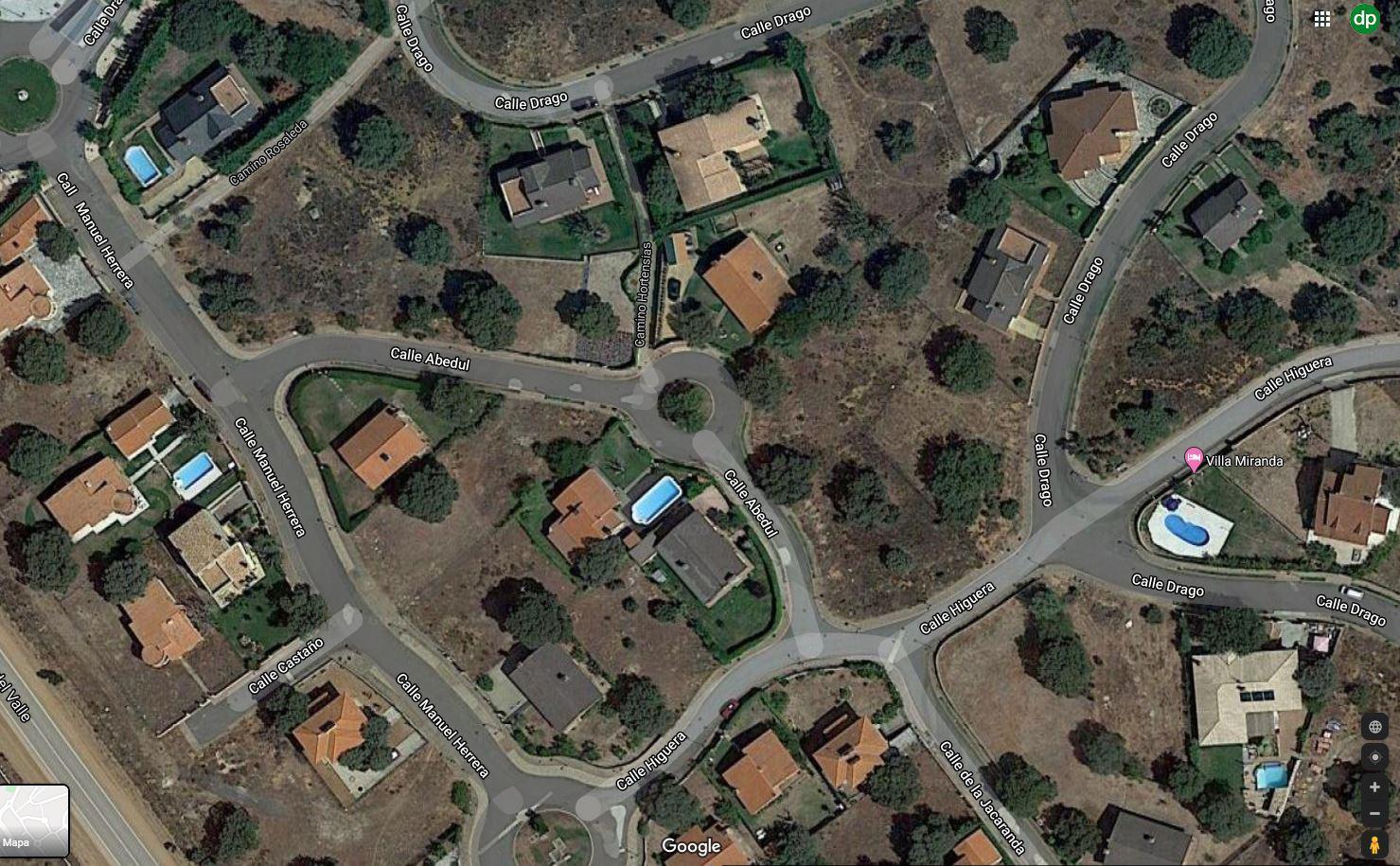 Imagen 2 Solar Urbano en venta en Carrascal De Barregas / Campo de Golf de Zarapicos