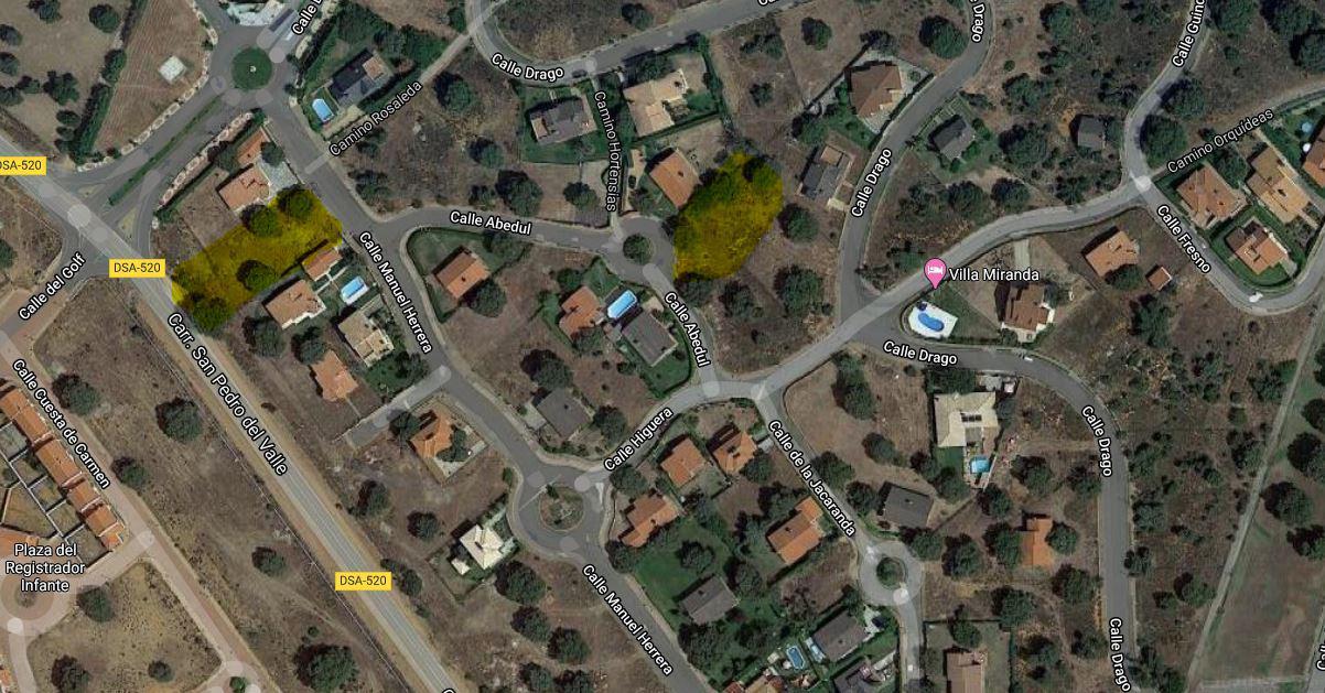 Imagen 4 Solar Urbano en venta en Carrascal De Barregas / Campo de Golf de Zarapicos