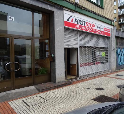 Imagen 1 Inmueble 218475 - Local Comercial en alquiler en Getxo / Romo, zona los pinos. Cerca metro Las Arenas