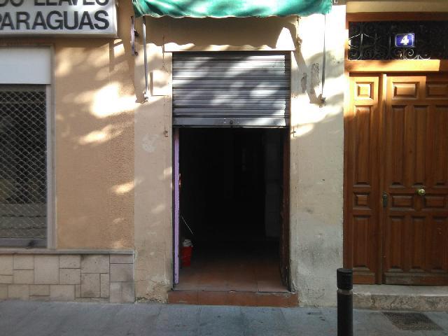 Imagen 1 Inmueble 230650 - Local Comercial en alquiler en Guadalajara / Local comercial muy cerca de Plaza del Ayunta...