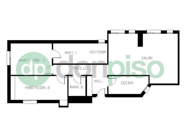 Imagen 1 Inmueble 225569 - Piso en venta en Madrid / Plaza República del Ecuador