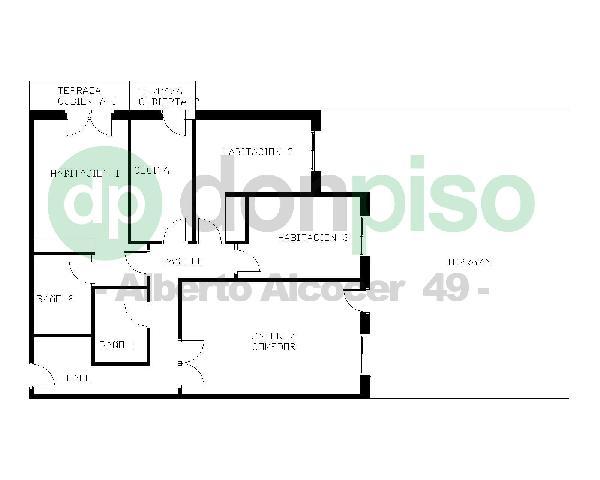 Imagen 1 Inmueble 229723 - Ático en venta en Madrid / Muy próximo al metro Bambú