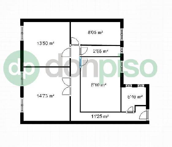 Imagen 1 Inmueble 249035 - Piso en venta en Madrid / Entre calle Orense e Infanta Mercedes