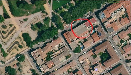 Imagen 1 Inmueble 244891 - Solar Urbano en venta en Pinto / Frente al Parque Nicolás Fuster