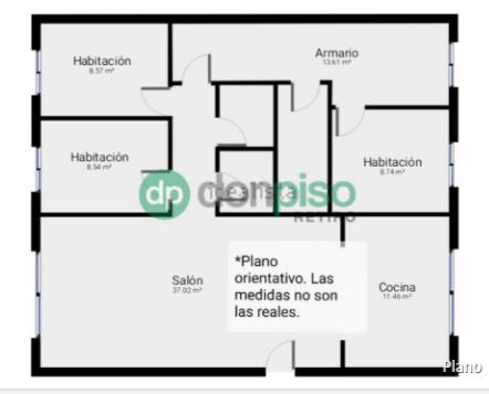 Imagen 1 Inmueble 242496 - Piso en alquiler en Madrid / Muy cerca de Menendez Pelayo