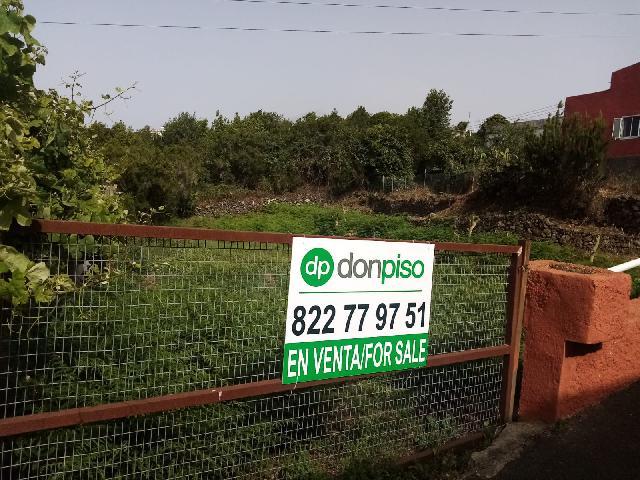 Imagen 1 Inmueble 240116 - Solar Urbano en venta en Tanque (El) / En la  localidad de Ruigómez-El Tanque a 19 min de Icod