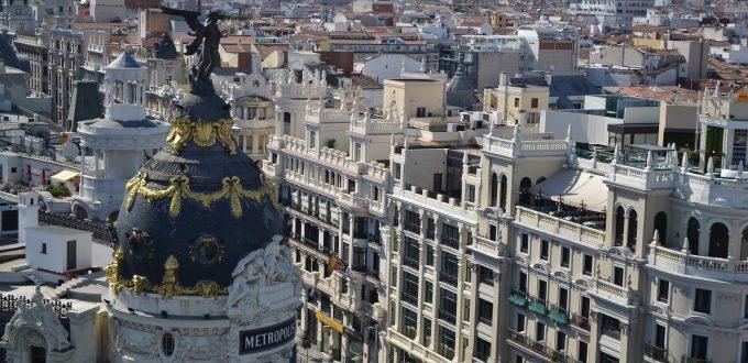 Edificios en Madrid