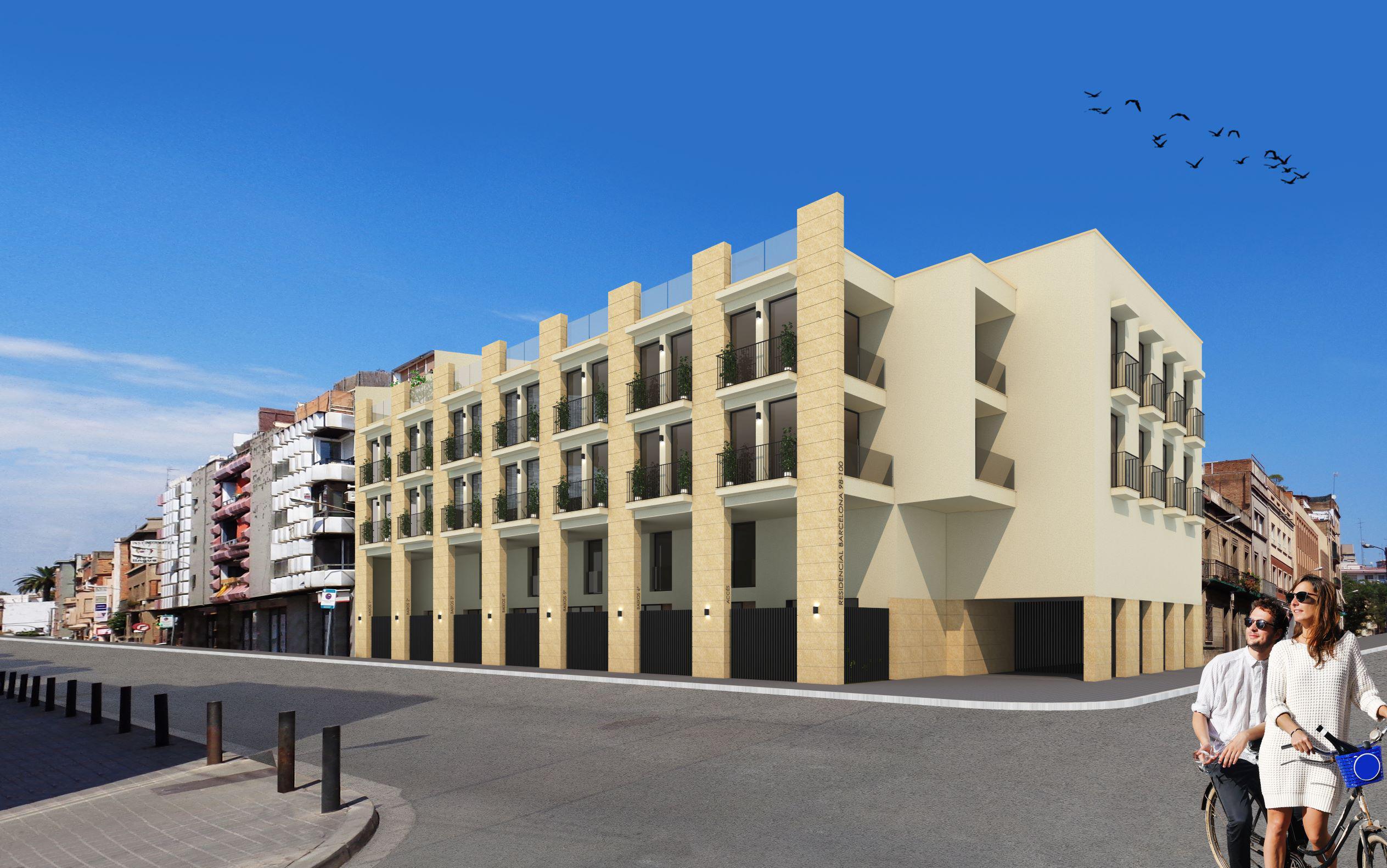 Imagen 1 Promoción Obra Nueva 118 - Obra nueva en Hospitalet De Llobregat (L´) / Junto al Ayuntamiento