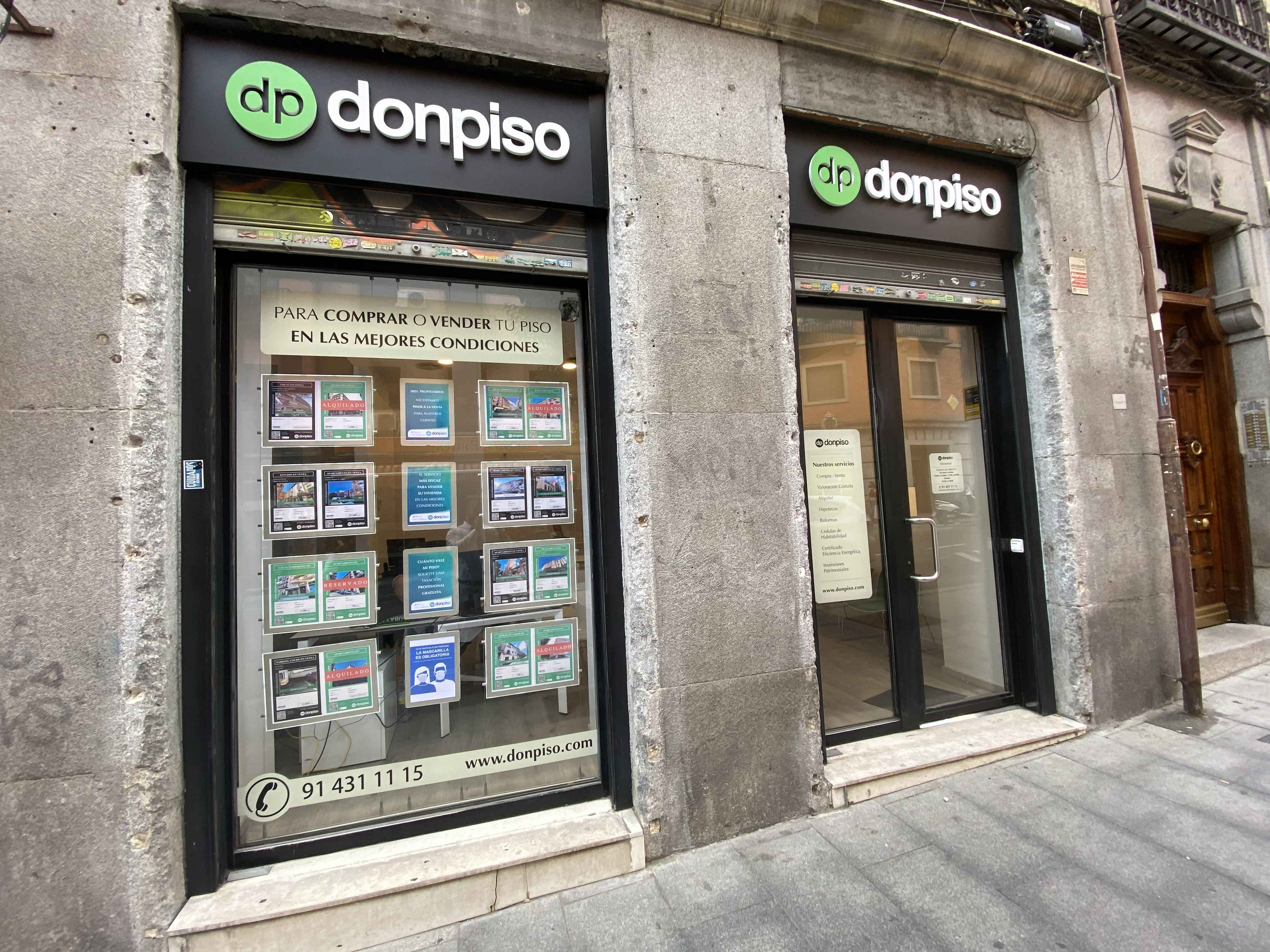 oficina donpiso Madrid La Latina